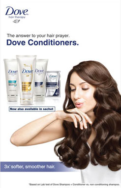 Dove Paper Advertisement