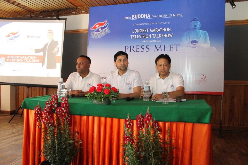 Buddha Press Meet